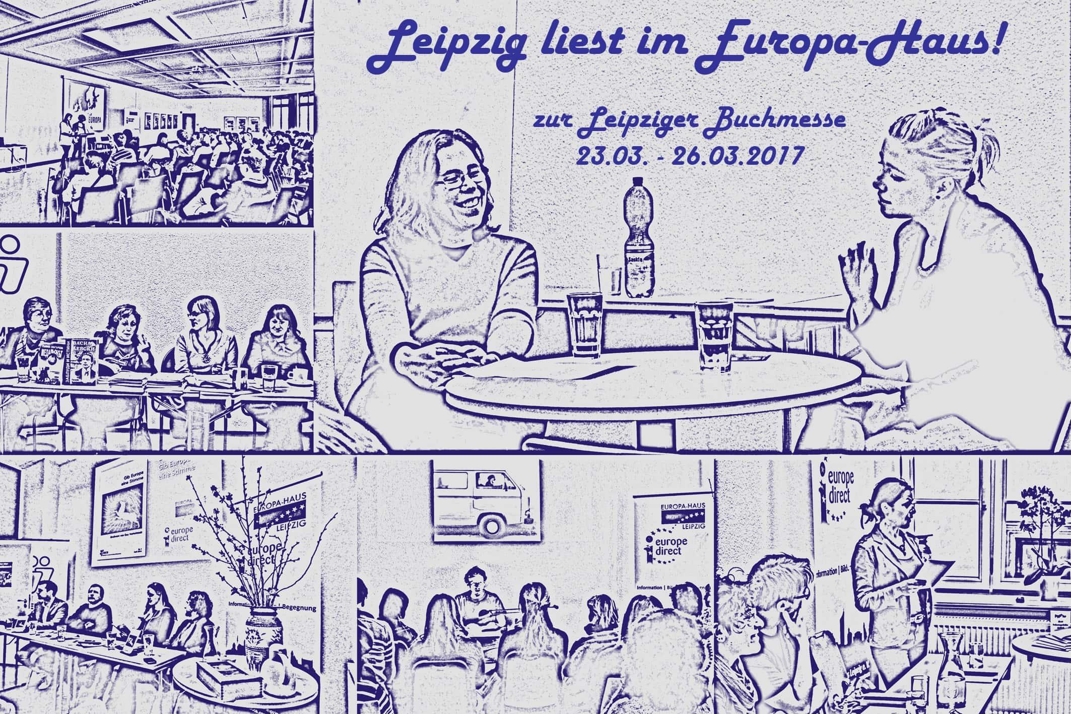 Leipzig liest im Europa Haus – Europa Haus Leipzig e V